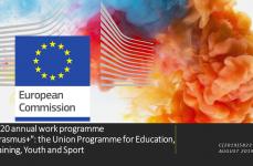 2020 ERASMUS+ EĞİTİM-ÖĞRETİM, GENÇLİK VE SPOR PROGRAMI YILLIK ÇALIŞMA PROGRAMI