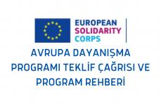 Avrupa Dayanışma Programı (ESC) Teklif Çağrısı ve Program Rehberi