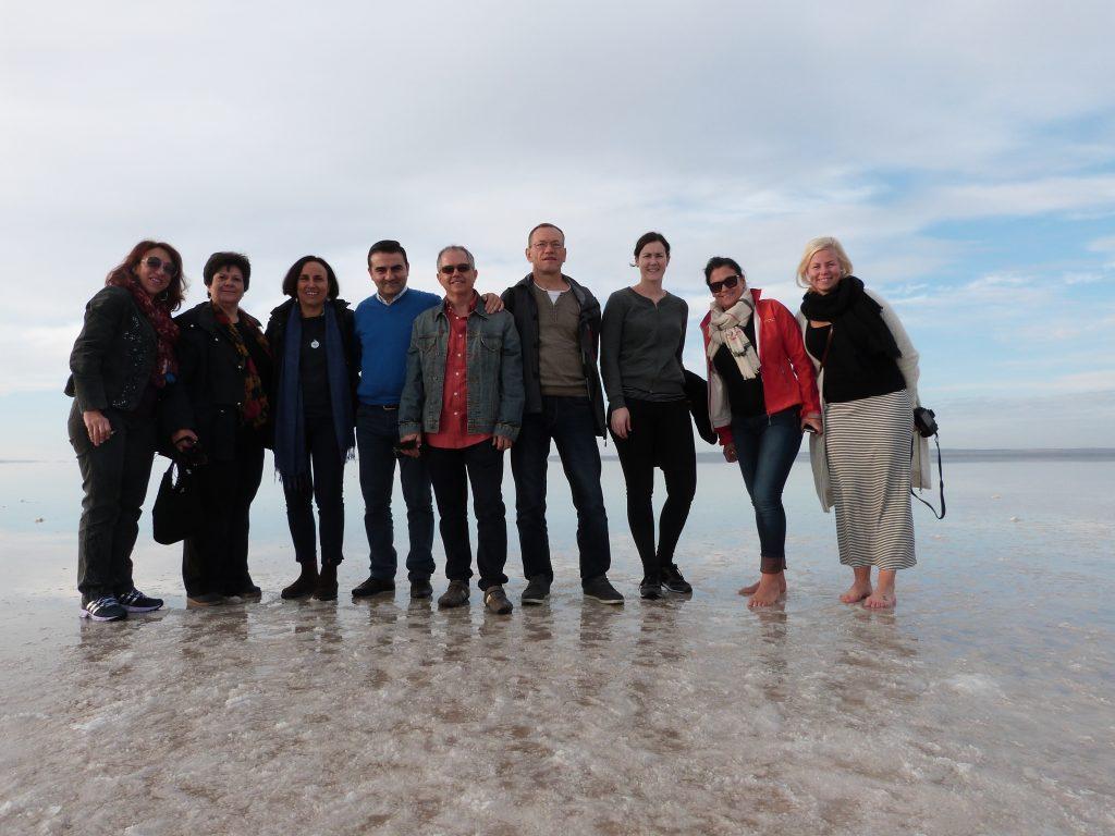 Salt Lake Nature Park Trip of Our Participants