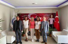 Litvanya'lı Misafirlerimize Spor Alanında İşbaşı Gözlem Faaliyeti Düzenledik.