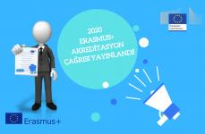 2020 Erasmus+ Akreditasyon Çağrısı Yayınlandı