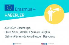 2021-2027 Dönemi için Akreditasyon Başvuruları