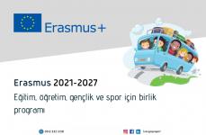 Erasmus 2021-2027: Eğitim, Öğretim, Gençlik ve Spor için Birlik Programı