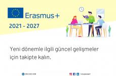Erasmus+ 2021-2027: Güncel Gelişmeler