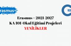 Erasmus+ 2021-2027 KA 101 Okul Eğitimi Projeleri